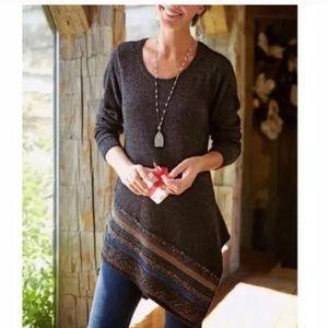 NWT Soft Surroundings cozy Raku tunic sweater S
